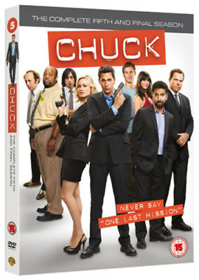 Chuck: The Complete Fifth Season DVD (2012) Zachary Levi
