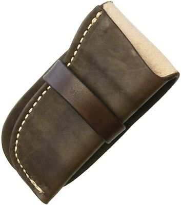 Sheaths--Leather Knife Pouch Large
