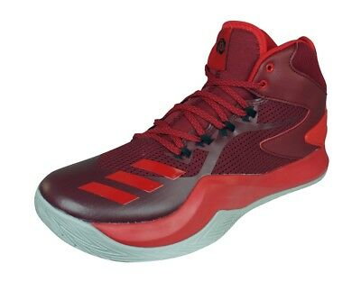 low priced 11026 7d5a7 adidas D Rose Dominate IV Baskets Basketball Chaussures Hommes Rouge