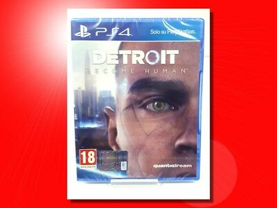 Detroit Become Human Per Playstation 4 Ps4 Prodotto Italiano Sigillato Nuovo!