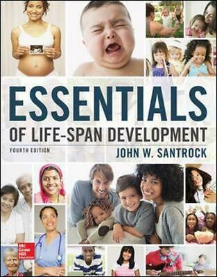 Essentials of Life-span Development by John W. Santrock (English) Paperback Book