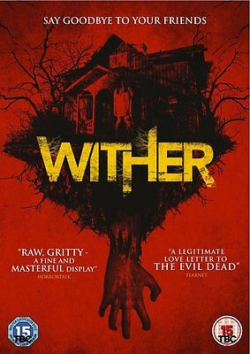 Wither  (DVD)   New!!   Evil Dead style Horror