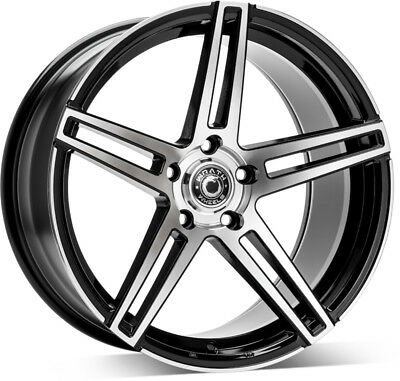 18 5x112 Et42 Alloy Wheels Rs4 Style To Fit Vw Golf Scirocco Audi