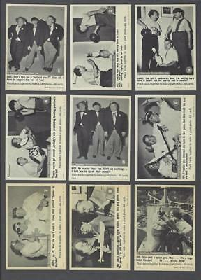 1966 Fleer The Three Stooges Trading Cards Complete Set of 66 With Wrapper