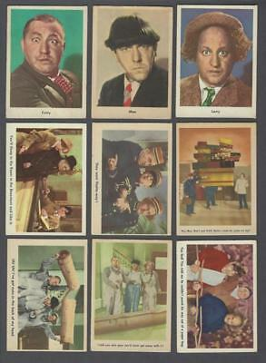 1959 Fleer The Three Stooges Trading Cards Complete Set of 96 With Wrapper