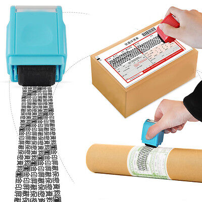 Identity Theft Protection Roller Stamp Guard Hide ID Protect Privacy Security