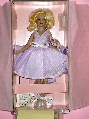 "Tonner - 2004 Parisian Brunch Purple 10"" Tiny Kitty Collier Doll NRFB LE150"