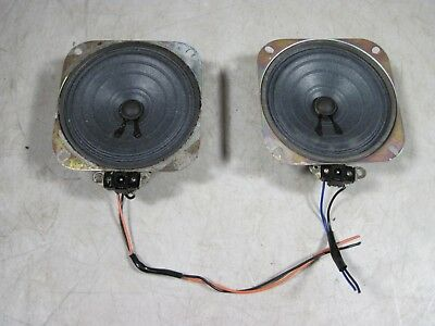 Vintage 70's Weltron 2001 Space Ball Radio Speakers Parts 8 Track Stereo