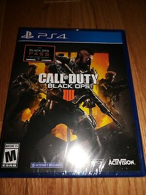 Brand New Call of Duty Black OPS 4 Sony Play Station PS4 Sealed