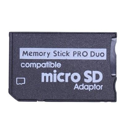 Memory Stick Pro Duo Mini MicroSD TF to MS Adapter SD SDHC Card Reader for  E4B6
