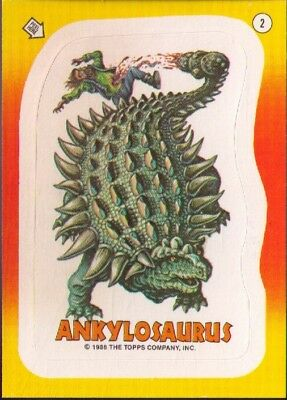 1988 Topps Dinosaurs Attack Stickers # 2