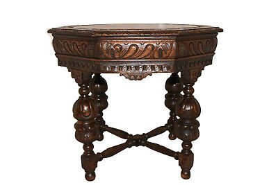 Perfectly Sized French Tudor Side Table, Occasional Table, 1920's