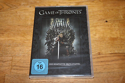 Dvd - Game Of Thrones - Staffel 1 - 5 Disc´s - Neu & Ovp