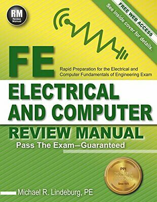 FE Electrical and Computer Review Manual by Michael R. Lindeburg - EB00K