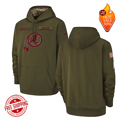 faef300d5 NEW Salute to Service Washington Redskins Therma PO Hoodie 2019 Limited