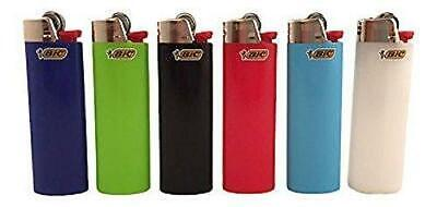 Bic Classic Full Size Lighter Maxi Full Size Assorted Colors 6 Pack