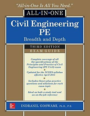 Civil Engineering All-In-One PE Exam Guide:Breadth and Depth 3rd Edition [P.D.F]