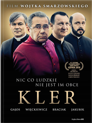Kler / The Clergy  (English & French  subtitles) DVD booklet