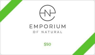 Emporium of Natural Gift Card $AUD50.00
