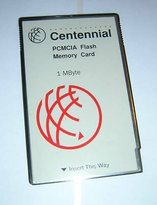 Centennial 1MB PCMCIA Linear Flash Memory Type I PC Card FL01M-20-10141-01 3094