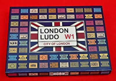 London Ludo Board Game:   Opened And Unused - In Perfect Condition!