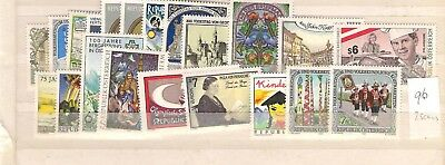 Nice 1996 Austria Year Complete 21 V 1 Bf Mnh Mf52799 Stamps Europe