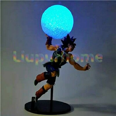 Dragon Ball Z Burdock DIY Led Night Lights Lamp Kamehameha Anime DBZ