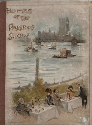 """Hichens, Whistler & Others - """"Homes Of The Passing Show"""" - Savoy Hotel (1900)"""