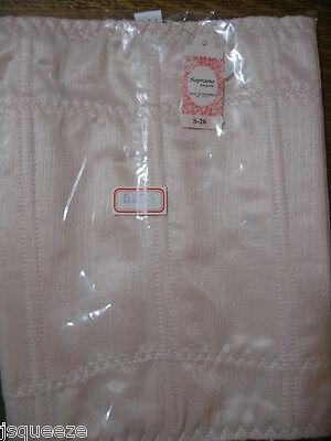 1 Vintage Soprano PINK Corselet Corset Girdle Stockings Nylons Girdle Lingerie