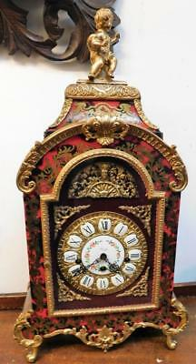 large boulle styled westminster bracket clock
