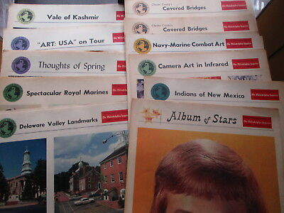 Lot of Approx. THIRTY Rotogravure Color Sunday COMICS Pages, Phila. 1965-1967
