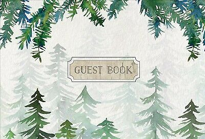 Guest Book Cabin Edition, Hardcover by Rock Point (COR), Like New Used, Free ...