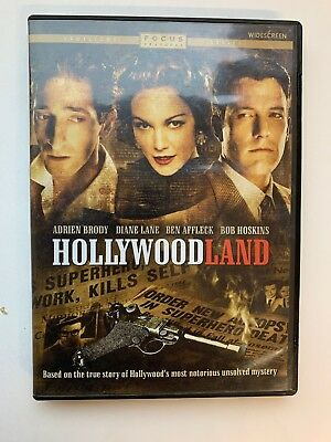 Hollywoodland (DVD, 2006) Widescreen, Adrien Brody, Diane Lane, Ben Affleck