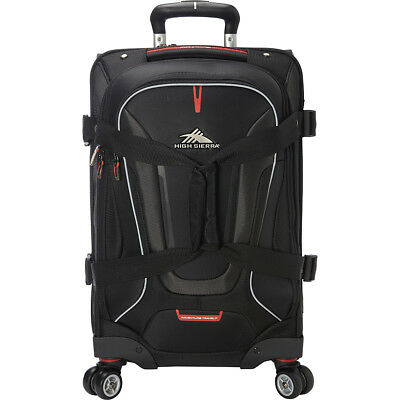 High Sierra AT7 Carry-on Spinner duffel with backpack Travel Duffel NEW 1  of 6FREE Shipping ... e9fd4c5246e89