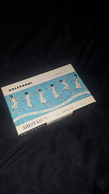 1X PAIR Holeproof Vintage Seamless Nylons Size 10 'RAVE' In Box