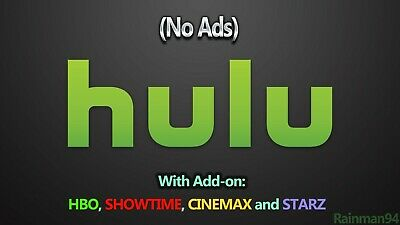Hulu 1 Month Subscription & Warranty Private Account