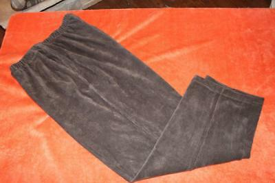 9c0fb8a28315b Lands End Dark Brown Sport Corduroy Pants Womans Size Xlp Xl Petite 18 - Euc
