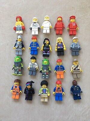 Free Postage Lego Minifigures Bundle Lot
