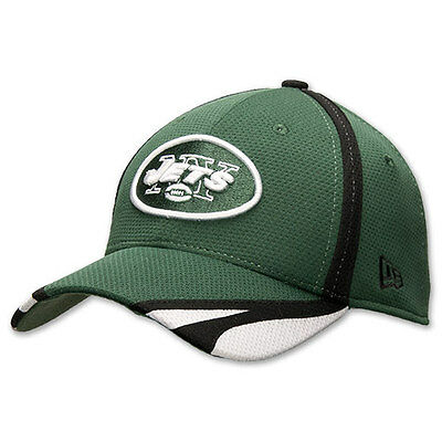 New Era New York Jets NFL Team 3930 39Thirty Hat Size Medium-Large Stretch  Fit f5d2873d4