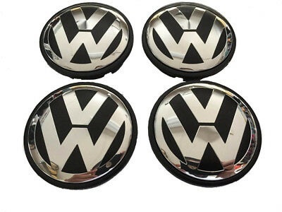 VW Alloy Wheel Centre Caps 65mm fit Most VW
