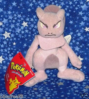 New Mewtwo Pokemon Plush Doll Toy Hasbro Official Release 1999 New with Tags