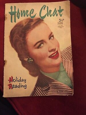 Vintage Home Chat Magazine August 2nd 1952 Rockabilly 50s