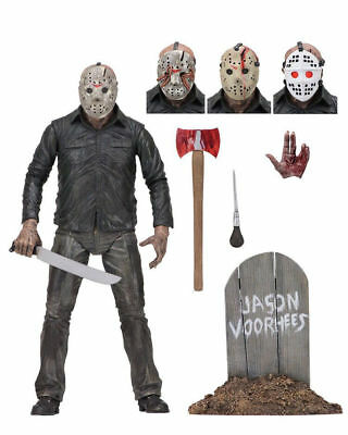 """Friday the 13th Final Chapter JASON VOORHEES 7"""" Scale Auction Loose Figure"""
