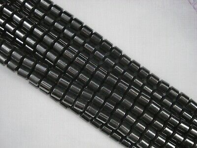 Magnetic Hematite 6 x 6mm Beads 40cm Strand Jewellery Necklace FREE POSTAGE