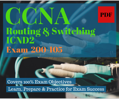 CCNA Routing and Switching ICND2 Study Guide, 2 in 1,  Exam 200-105, PDF Format