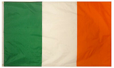 Rugby 6 Nations 5ft x 3ft Irish Ireland St Patricks Day Decoration Flag Pub