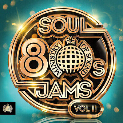 Various Artists : 80s Soul Jams - Volume II CD Box Set 3 discs (2019) ***NEW***