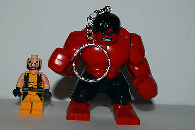Keychain Hulk Red Incredible Mass See Scale - Of The Avengers - C56