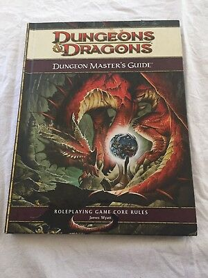 Dungeon & Dragons - Dungeon Master's Guide Core Game Rules 4th ed, hardcover
