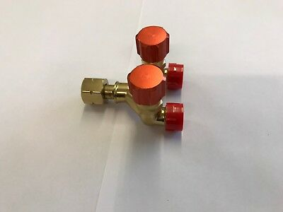 Acetylene 'Y' Piece ** Splitter ** Double Outlet ** Lh